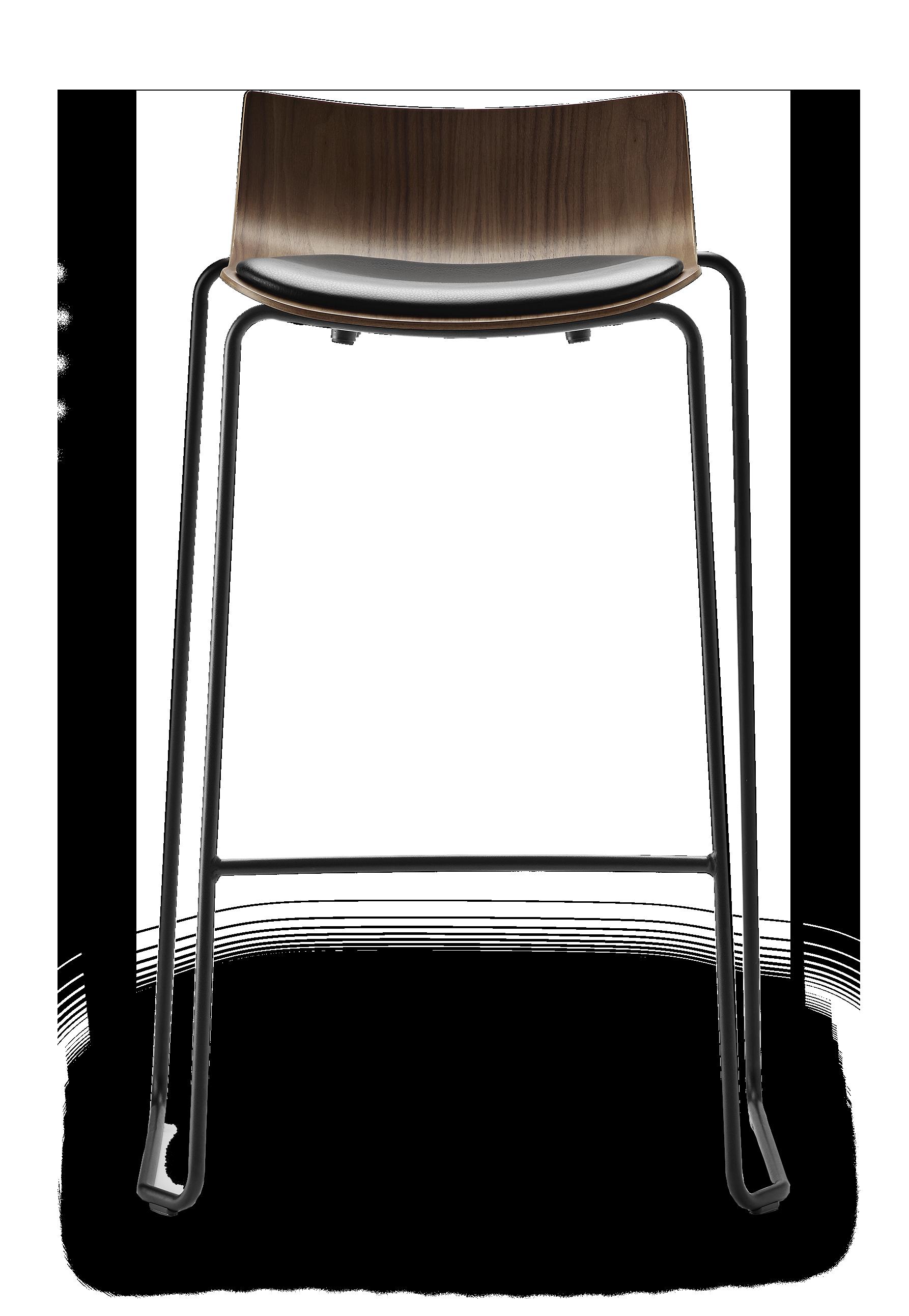BA004S |  Preludia Bar Stool upholstered seat