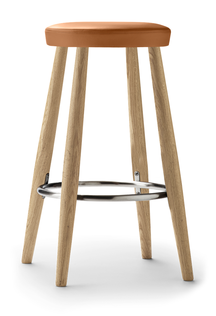Ch58 Bar Stool Designed By Hans J Wegner Carl Hansen Son